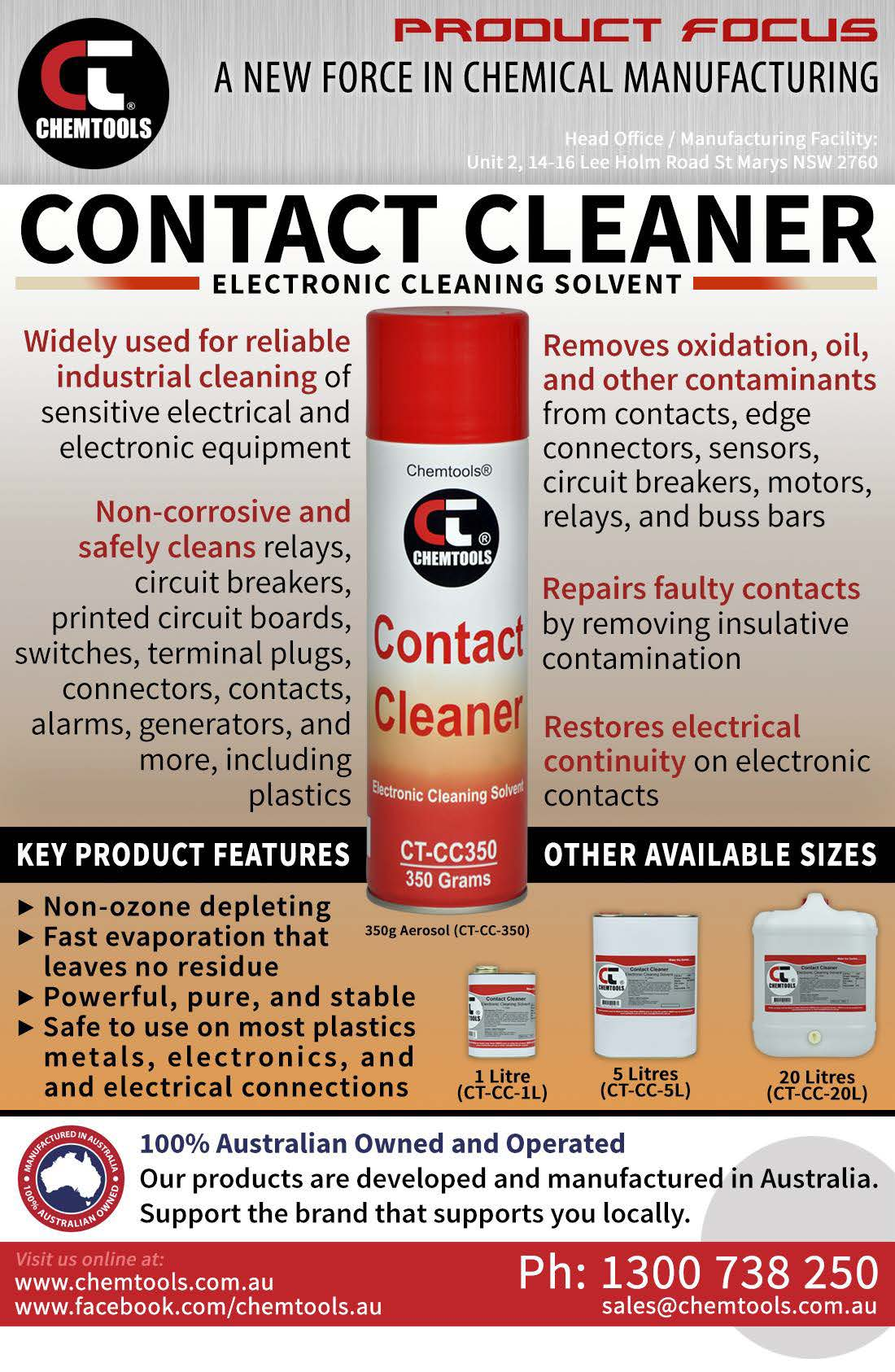 Kleanium Contact Kleen Electrical Contact Cleaner