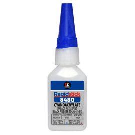 Rapidstick 8480 Cyanoacrylate Adhesive, 25ml