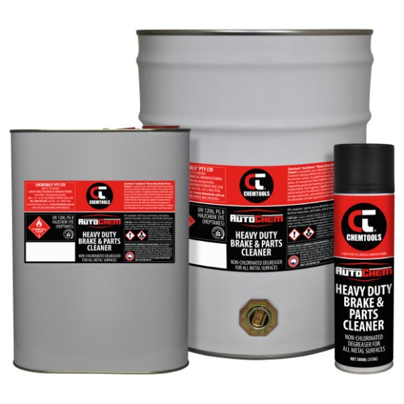 AutoChem™ Heavy Duty Brake & Parts Cleaner Product Range