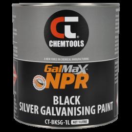 GalMax™ NPR Gloss Black Galvanising Paint, 1L