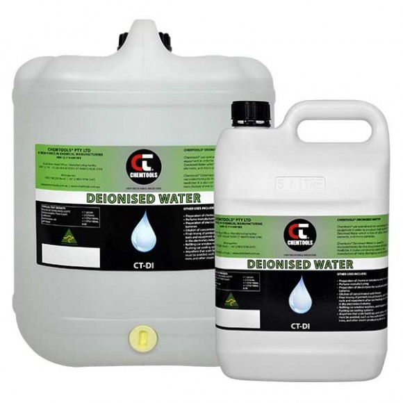 Deionised Water Product Range