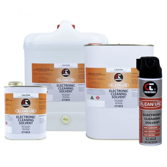 Electronic Cleaning Solvent Product Range