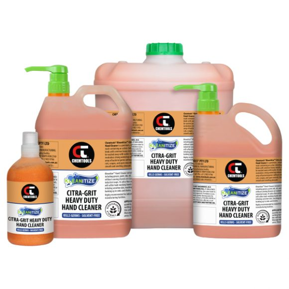 Kleanitize Citra-Grit Heavy Duty Hand Cleaner Product Range