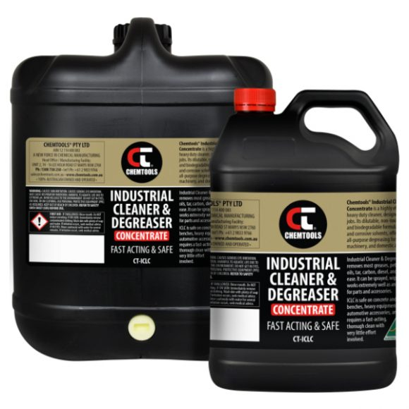 Industrial Cleaner & Degreaser Concentrate Product Range