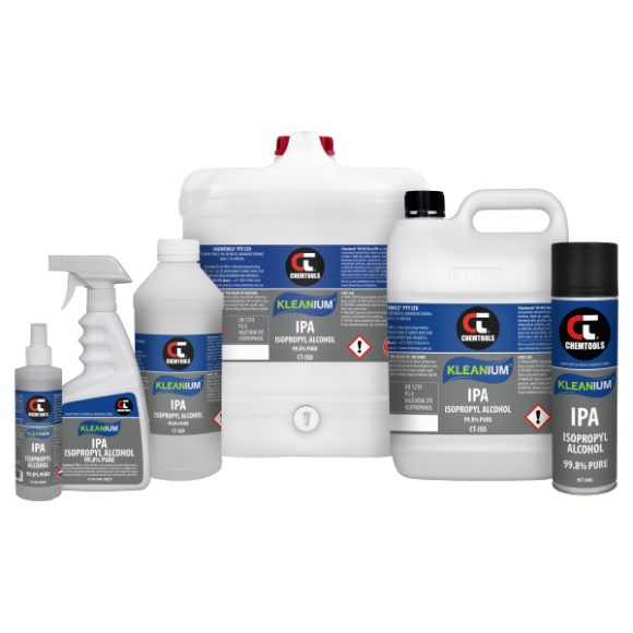 Kleanium™ 99.8% Pure IPA Isopropyl Alcohol Product Range