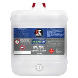 Kleanium™ 70% IPA Isopropyl Alcohol, 20L Drum