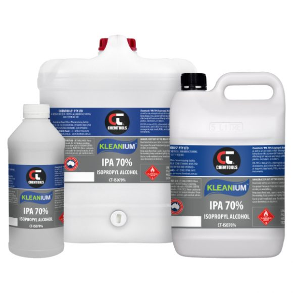 Kleanium™ 70% IPA Isopropyl Alcohol Product Range