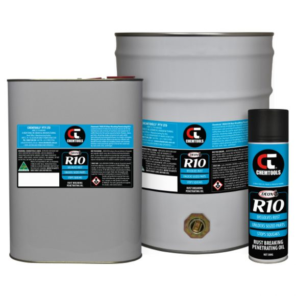 DEOX R10 Rust Breaking Penetrating Oil Product Range