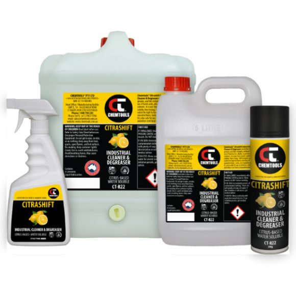 Citrashift Industrial Cleaner & Degreaser Product Range