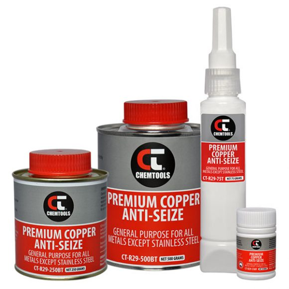 Premium Copper Anti-Seize Product Range