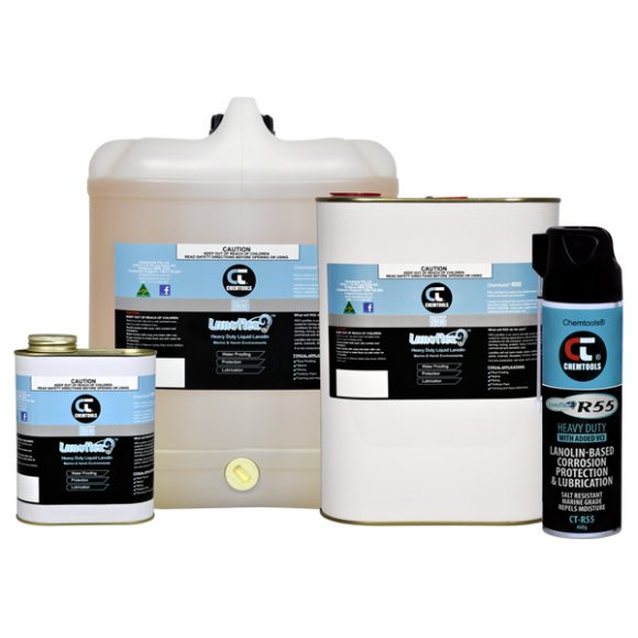 CT-R55 Heavy Duty Liquid Lanolin Lubricant, Product Range