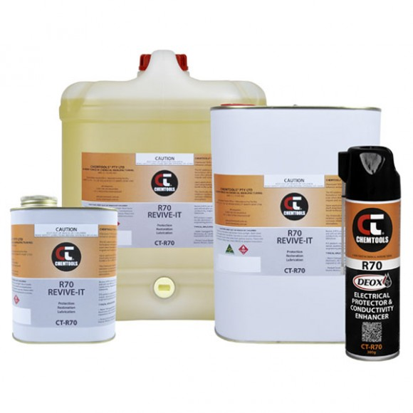 DEOX R70 Electrical Protector & Conductivity Enhancer Product Range
