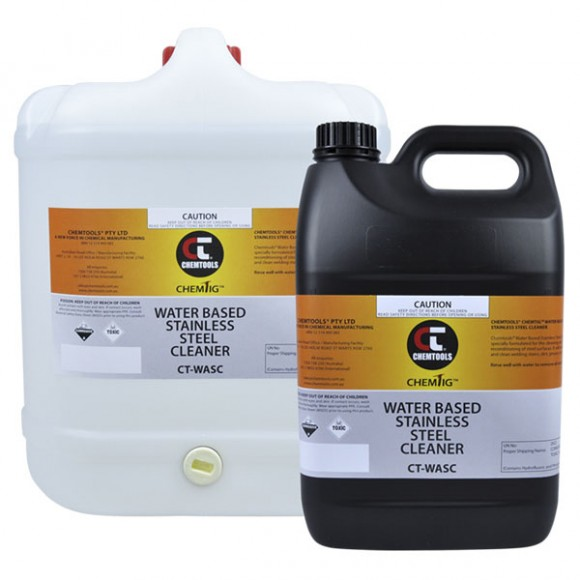 Water Based Stainless Steel Cleaner Product Range