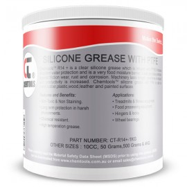 DEOX R14 Silicone Dielectric Grease with PTFE, 1Kg Tub