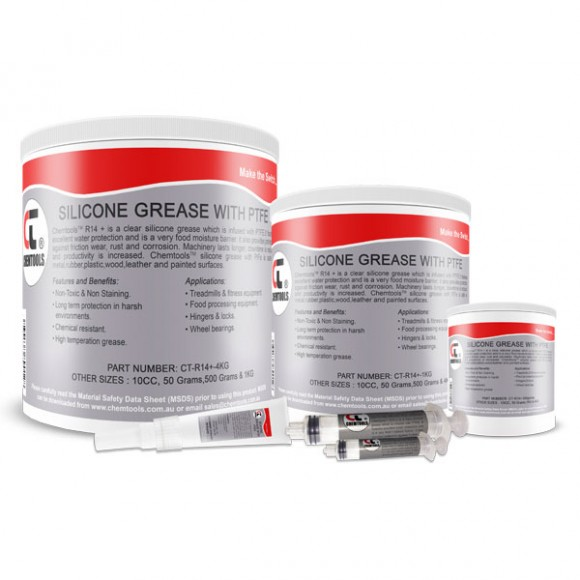 DEOX R14 Silicone Dielectric Grease with PTFE