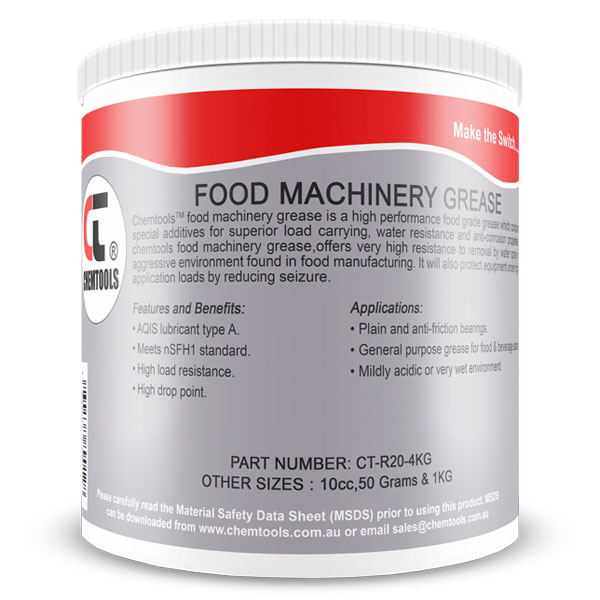 food grade machine grease