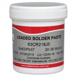 Solder Paste Sn62/Pb36/Ag2 No Clean 500g Jar