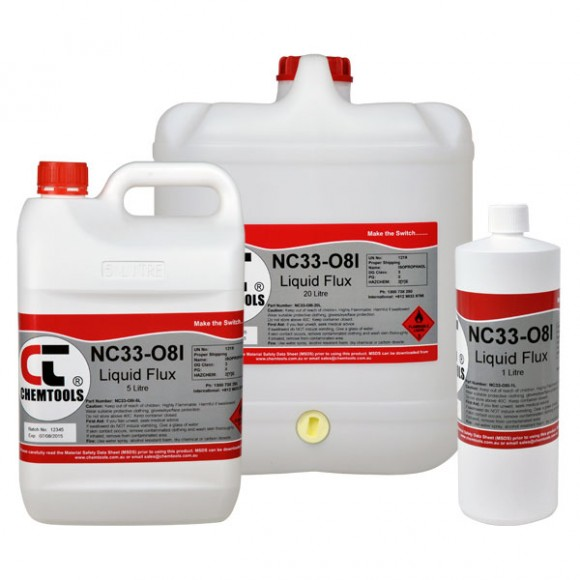 NC33-08I – Liquid Flux No Clean