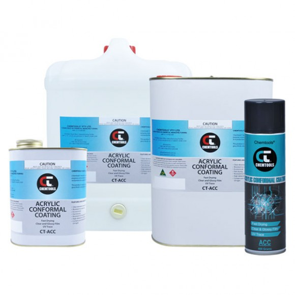 CT-ACC Acrylic Conformal Coating Product Range