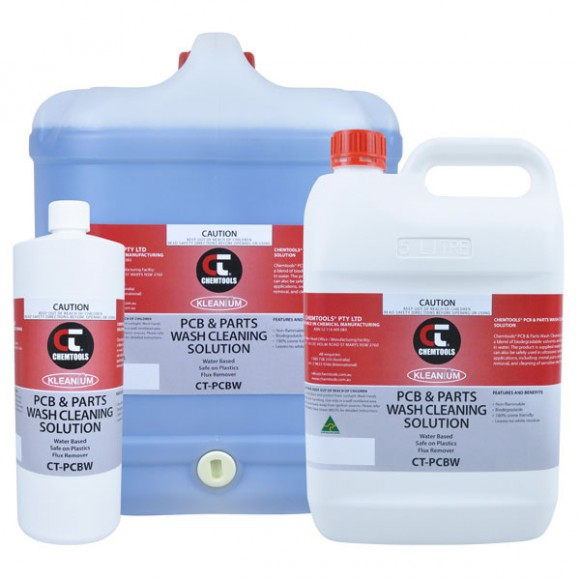 PCB and Parts Wash Cleaning Solution Product Range