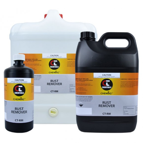Rust Remover Product Range