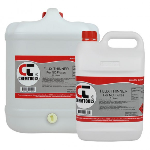 Common Flux Thinners Product Range