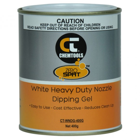 Zero Spat™ White Heavy Duty Nozzle Dip Gel, 400g