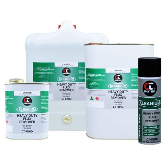 Heavy Duty Flux Remover Product Range