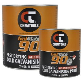 GalMax™ 90 Cold Galvanising Paint - Brushable, Product Range