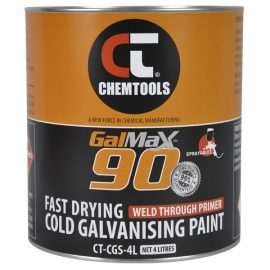 GalMax™ 90 Cold Galvanising Paint - Sprayable, 4L