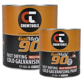 GalMax™ 90 Cold Galvanising Paint - Sprayable, Product Range