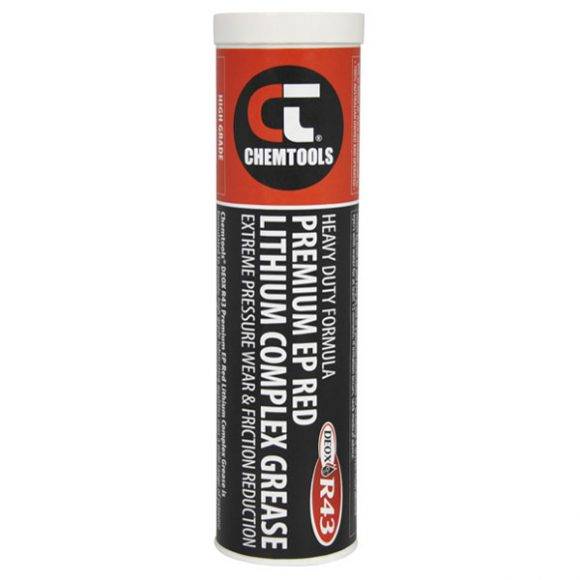 DEOX R43 Premium EP Red Lithium Complex Grease, 450g