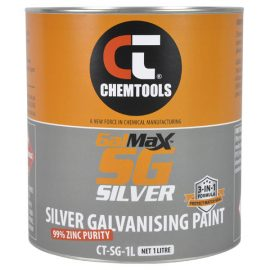 GalMax™ SG Silver 3-in-1 Silver Galvanising Paint, 1L