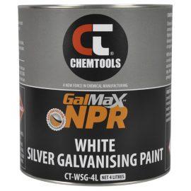 GalMax™ NPR White Silver Galvanising Paint, 4L