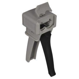Ratchet Propelled Twin Piston Cartridge Mixing Gun (1:1 & 2:1 Ratio)