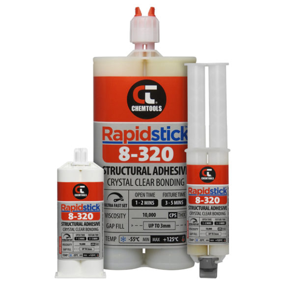 Rapidstick™ 8-320 Structural Adhesive Product Range