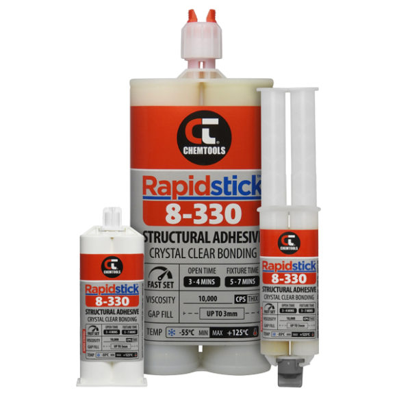 Rapidstick™ 8-330 Structural Adhesive Product Range