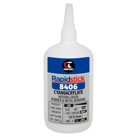 Rapidstick 8406 Cyanoacrylate Adhesive, 500g