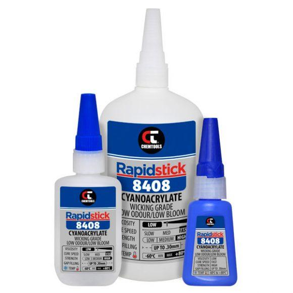 Rapidstick™ 8408 Cyanoacrylate Adhesive Product Range