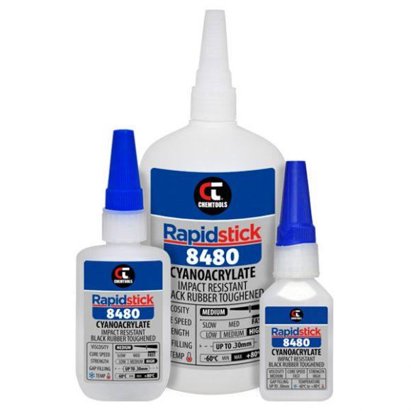 Rapidstick™ 8480 Cyanoacrylate Adhesive Product Range