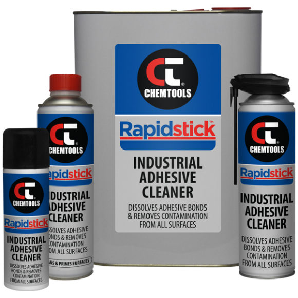 Rapidstick™ Industrial Adhesive Cleaner Product Range