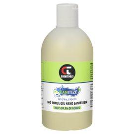 Kleanitize No-Rinse Gel Hand Sanitiser (Ethanol-Based), 500ml
