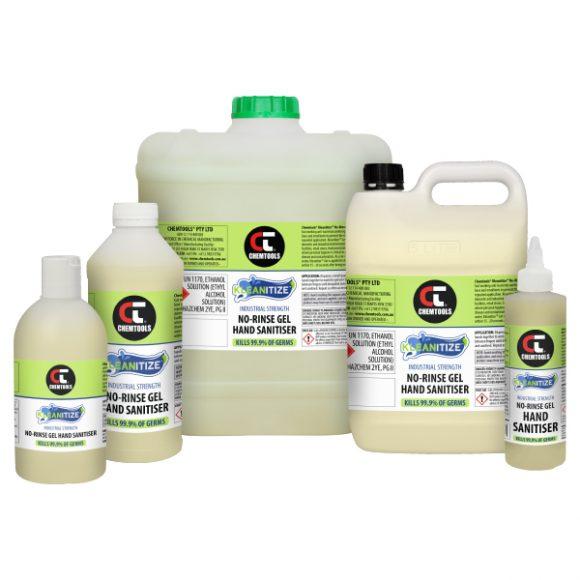 Kleanitize™ No-Rinse Gel Hand Sanitiser (Ethanol-Based) Product Range