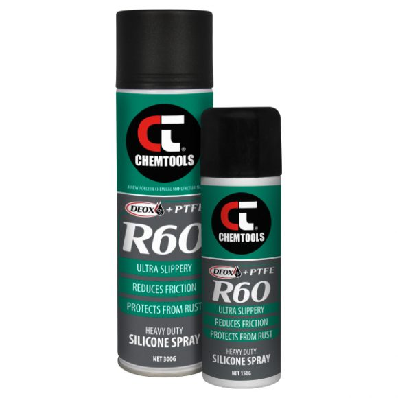 DEOX R60 Heavy Duty Silicone Spray with PTFE Product Range
