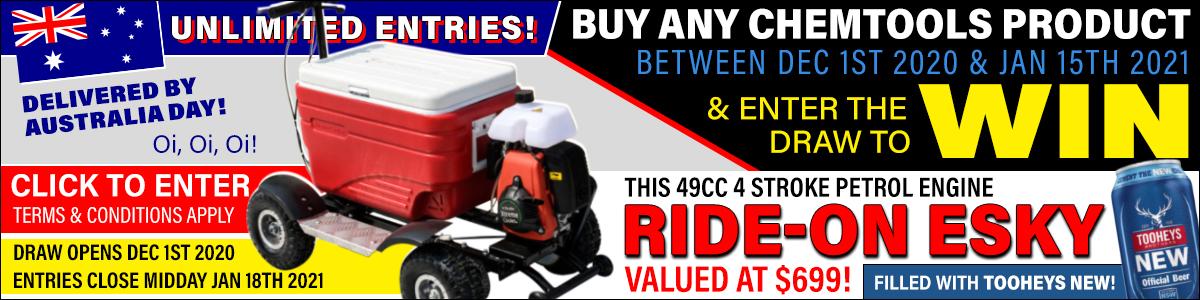 Win a Ride-On Esky!