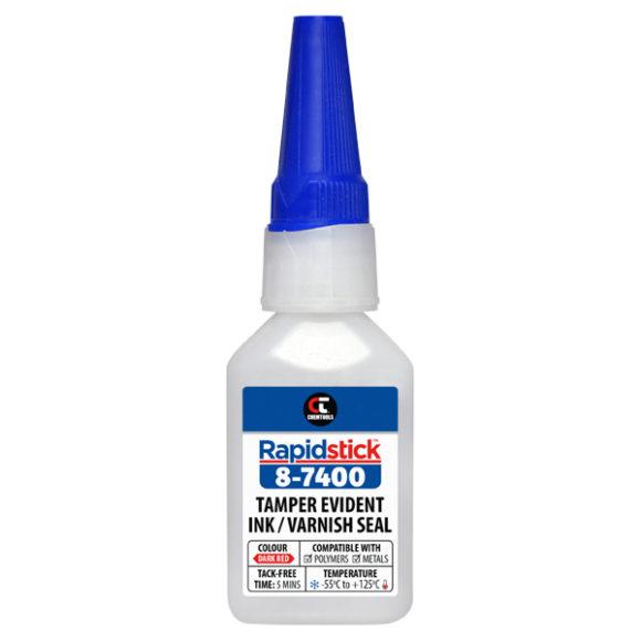 Rapidstick™ 8-7400 Tamper Evident Ink/Varnish Seal, 20ml